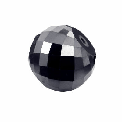 black loose moissanite beads stone 39.11 ct 16.88 mm good cut best price
