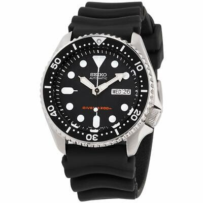 Seiko Divers Automatic Movement Black Dial Men's Watch SKX007P9**Open Box**