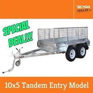 10x5 New Wheel Hot Dip Galvanized Tandem Trailer 2000KG ATM Dandenong Greater Dandenong Preview