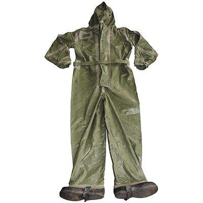 CZ/SK Gummianzug OPCH 70 oliv ABC HAZMAT Dekontamination Schutzanzug Anzug