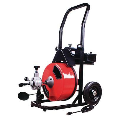 Theworks 12 In. X 50 Ft. Power Feed Drain Cleaner Machine