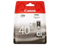 2 x Canon 40 ink cartridges new sealed (Bath)