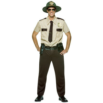 Super Trooper Costume Halloween (Super Troopers Adult Mens Halloween)
