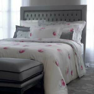 Yves delorme maijuin rose duvet cover egyptian cotton for Housse de couette yves delorme