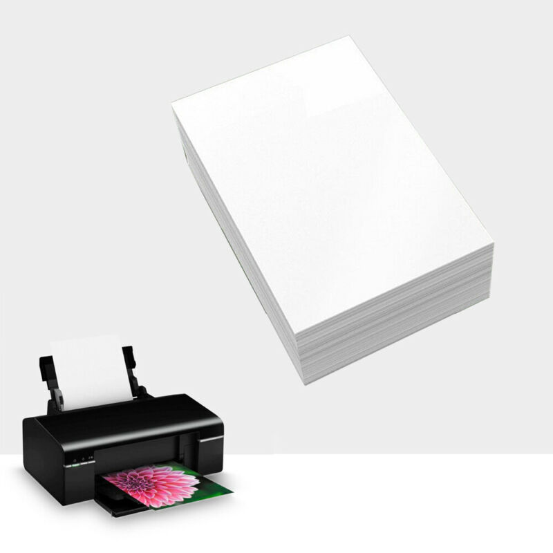 20 PCS A5 Glossy Printing Paper Inkjet Printer Waterproof Ph