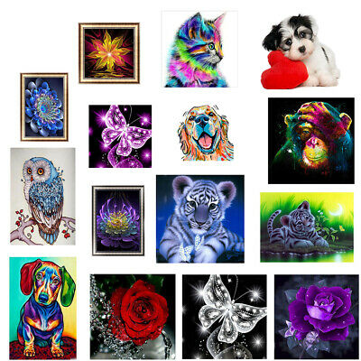 5D Diamond Painting Embroidery Cross Craft Stitch Arts Kit Mural Home Decor