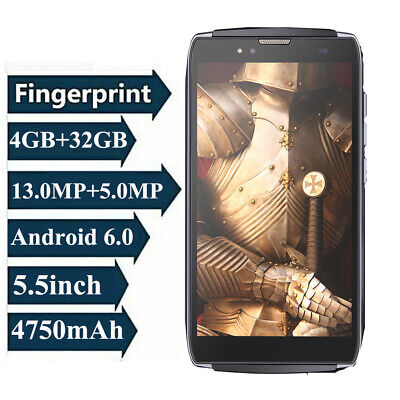 Android Phone - UHANS U300 5.5inch Fingerprint Smartphone 4GB RAM 32GB ROM Mobile Phone Android