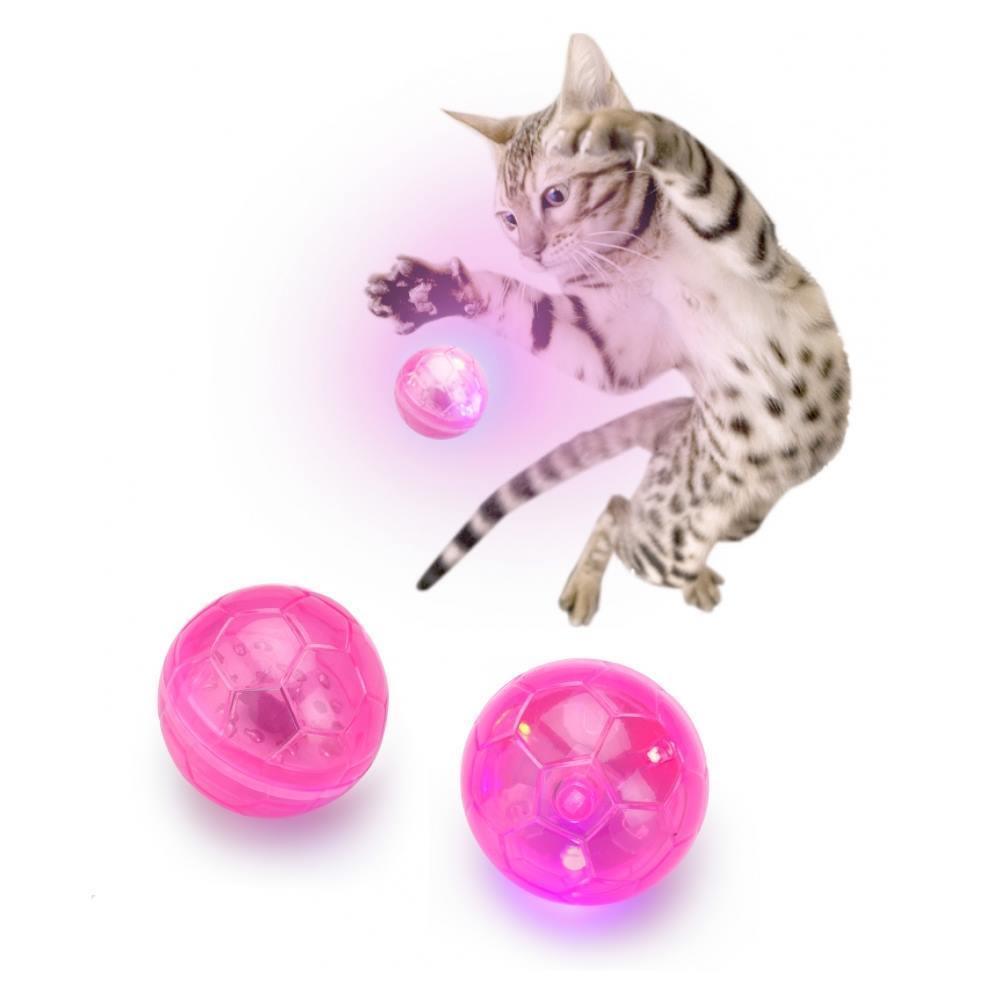 Cat Flash Ball Katzen Spielzeug blinkt - Lichteffekte Flashing  / 409-422212