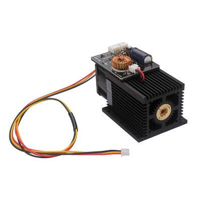 Universal Laser Module Head 12w 12000mw Blue Light 450nm For Diy Laser Engraver