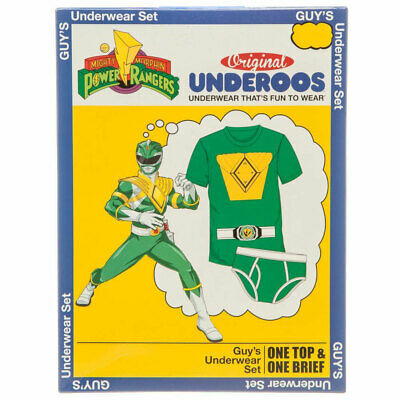 Power Rangers Green Ranger Men's Underoos Underwear Set