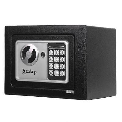 "ZOKOP Electronic Digital Combination Lock Safe Box Home Office Jewel Cash Gun 9"""