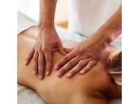 Sports Massage by male therapist