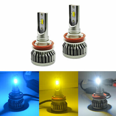 High Power Triple Color Switchback LED Bulbs For Fog Daytime Driving DRL Lights](Led Ice Cube Lights Wholesale)