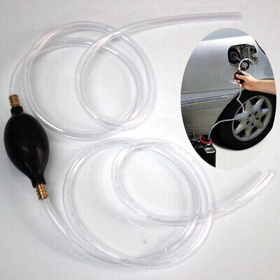 Creative Hand Manual Gas Oil Water Liquid Transfer Pump Siphon Hose For Car New