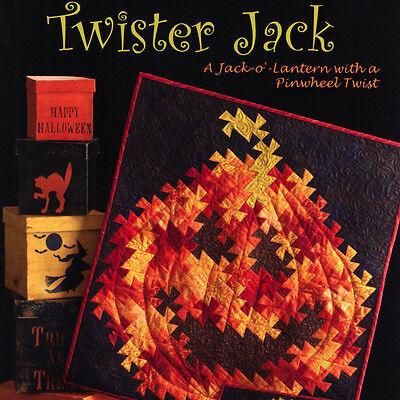 TWISTER JACK QUILT PATTERN Jack-O'-Lantern Pinwheel Twist NEED'L LOVE Halloween