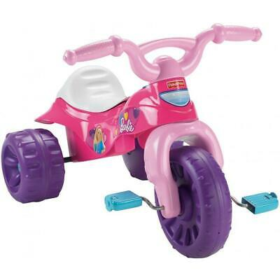 Fisher-Price Barbie 3 Wheels Tough Trike Pink Tricycle New Ride On DAMAGED BOX