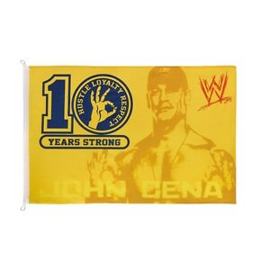 WWE WWF John Cena Flag $5 Brand New Sealed
