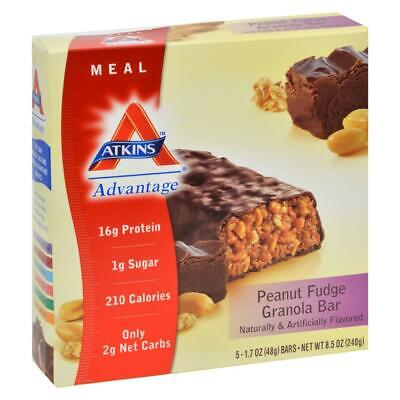 Advantage Bar Peanut Fudge Granola (5 - 1.6 (Advantage Peanut Fudge Granola Bar)