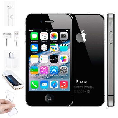 Apple iPhone 4S Mobile Phone 8GB 16GB 32GB Sim Free Factory Unlocked Smartphone