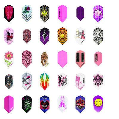 5 New Sets Ladies Slim Dart Flights Girl Variety Design Wholesale Prices