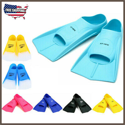 New Silicone Swimming Flippers Training Diving Snorkeling Fins Submersible (Silicone Fins)