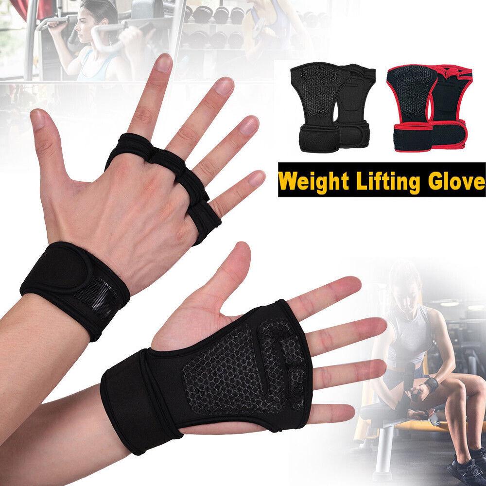 Men&Women Workout Wrist Straps Gloves for Gym Training Fitne
