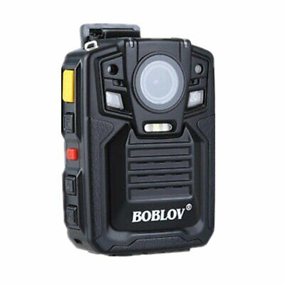 BOBLOV HD 1296P A7 64GB Wide Angle Police Security Body Worn Camera IR Recorder