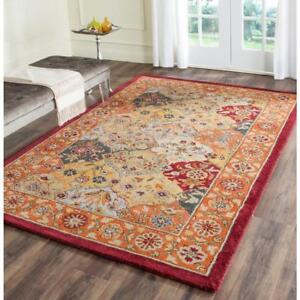 "Safavieh Heritage Multi/Red 9'6"" ft. x 13'6"" ft. Area Rug NEW ** 5 CORNERS FURNITURE**"