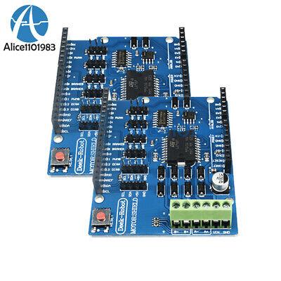 2pcs L298p Shield R3 Two Motor Driver 2a H-bridge 2 Way For Arduino Uno 2560