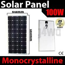 100w solar Panel caravan power battery charger 12v mono generator Craigie Joondalup Area Preview