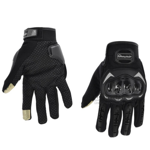 Motorcycle Motocross Sports Racing MTB Cycling Protective Touchscreen Gloves