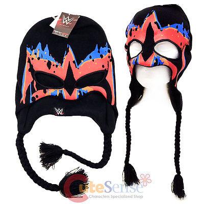 Wwe Ultimate Warrior Gesichtsfarbe Laplander Beanie Mütze mit Öse Löcher Kostüm
