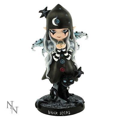 Nemesis Now - Black Stars Gothic Fairy Figurine