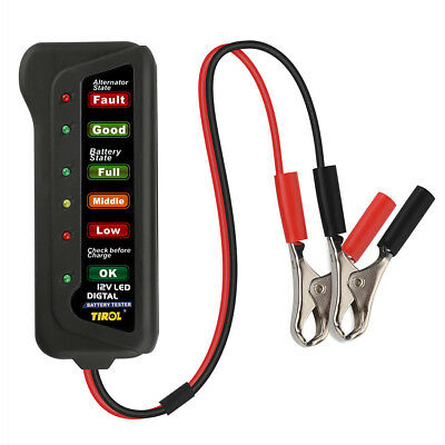 Battery Load Tester (Universal 12V Car Battery Load Tester Alternator Battery Tester Analyzer Tool)