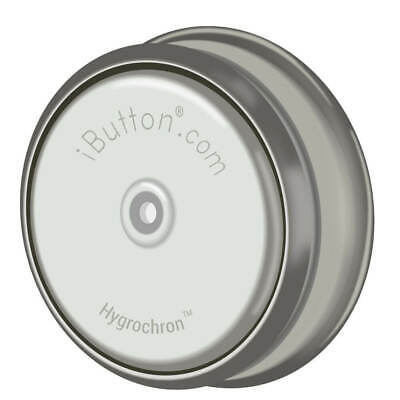 Maxim Integrated Ds1923-f5 Humidity Logger Ibutton With 8kb Data-log Memory