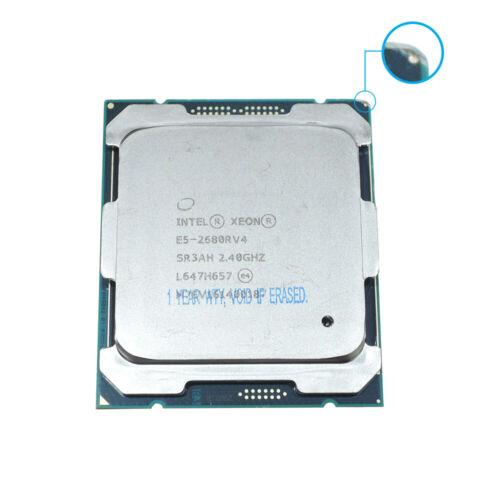 Intel XEON CPU E5-2680R V4 SR3AH 2.4G 14Cores LGA2011 E5-2680V4 Customize vision