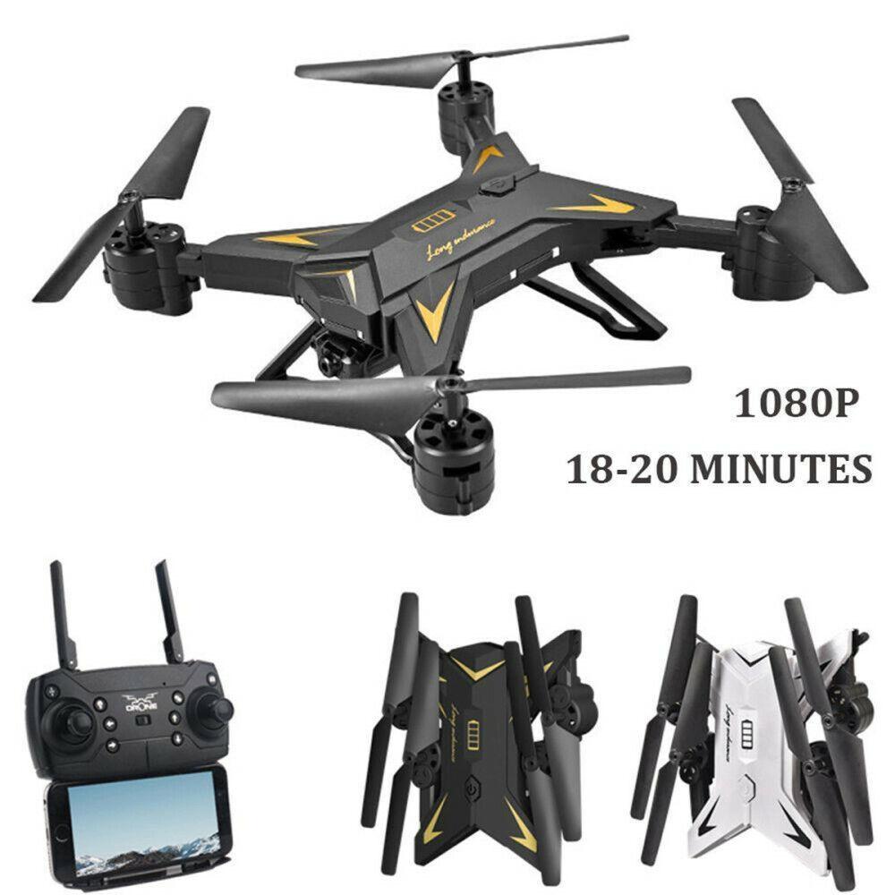 Drohne 1080P Drone Selfie WIFI FPV HD Kamera Faltbare RC Quadcopter Spielzeug