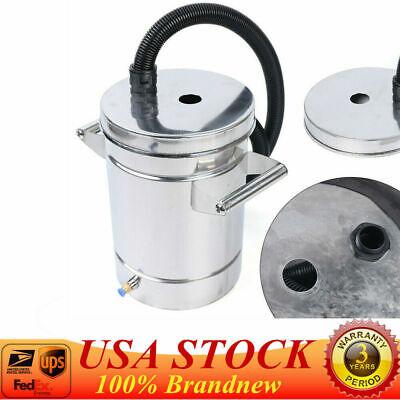 8l Fluidized Powder Hopper Bucket For Powder Coating Machine Stainless Steel Usa
