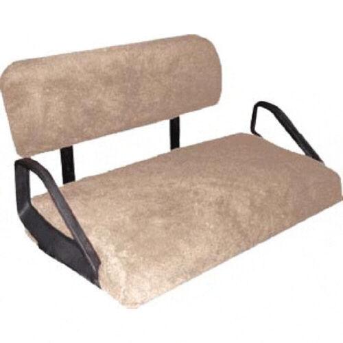 EZGO TXT / T48 (14-Up) Golf Cart Sheepskin Seat Cover Set (Tan)