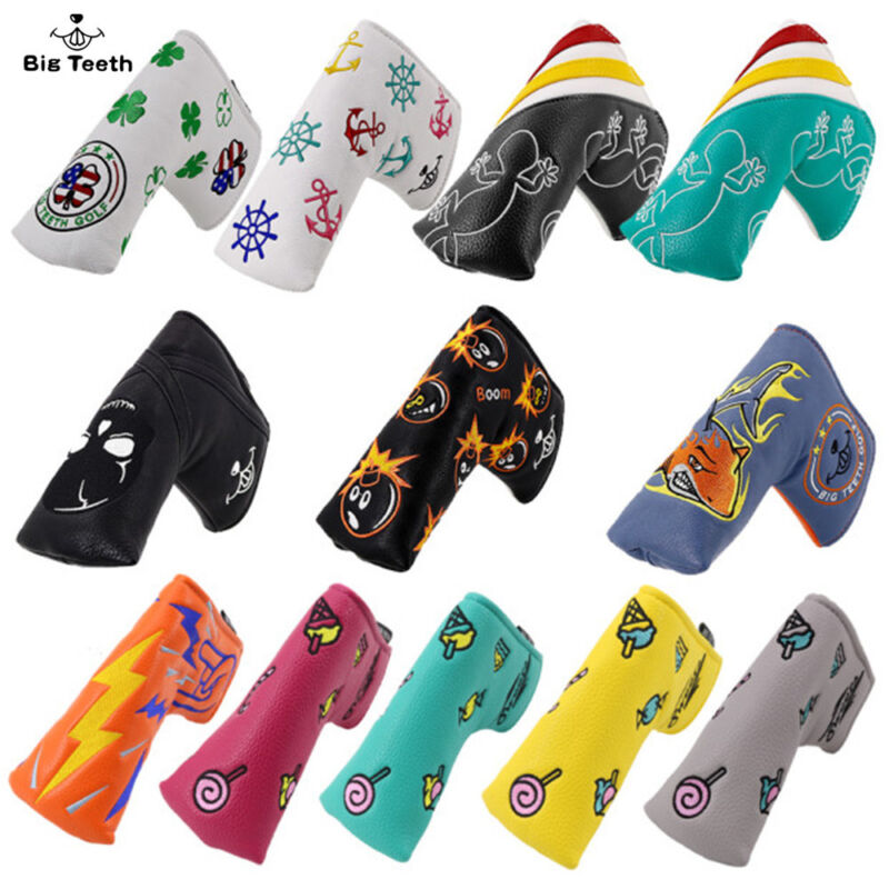 Putter Cover Headcover For Scotty Cameron Blade Odyssey New magnetic Big Teeth