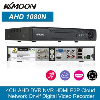 KKmoon 4CH 1080P Hybrid NVR AHD TVI CVI DVR 5-in-1 Digital Video Recorder CCTV Hybrid Video Recorder