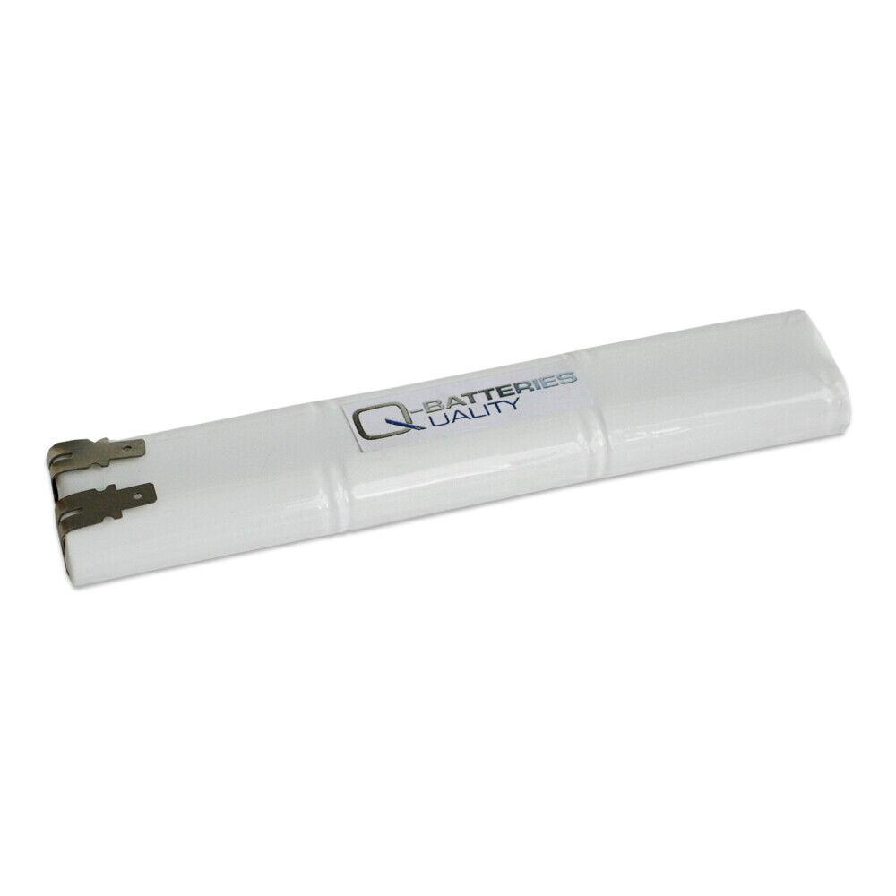 Akku Pack 7,2V 1500mAh NiMH L3x2 AA Hochtemperaturzellen als Block mit Faston +/