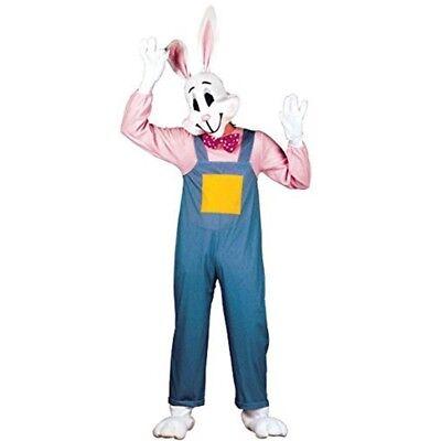 Mens Country Rabbit Costume Large Uk 42/44