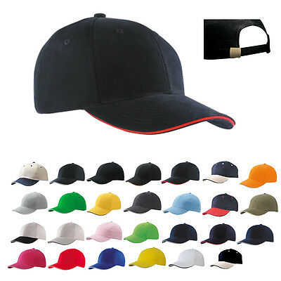 Myrtle Beach Sandwich-Cap Basecap Baseball Kappe 6-PANEL SANDWICH CAP Neu MB024