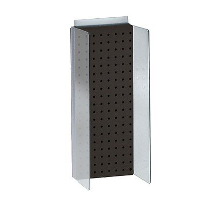 New Retails Black Pegboard Powerwing Display 8w X 20.625high