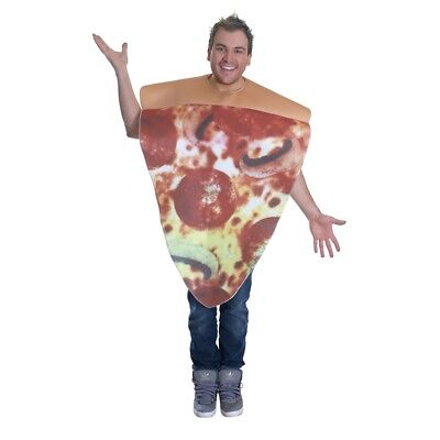 Unisex Pizza Costume For Adult Funny Novelty Stag Fancy Dress Outfit - Food - Food Costumes For Adults