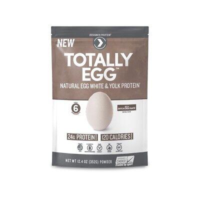 Designer Protein Totally Egg Protein Powder - Rich Dutch Cho