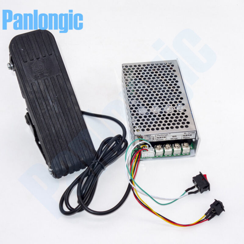 Footboard Hall Throttle 10-50V 100A Reversible PWM DC Motor Speed Controller