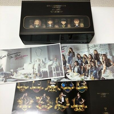SNSD GIRLS GENERATION THE BEST NEW EDITION JAPAN Ltd CD + DVD + BOOK w/OBI