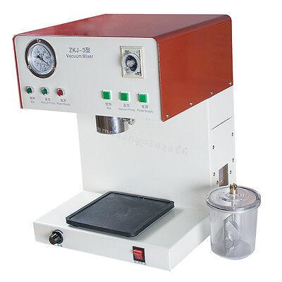 Dental Technician Digital Vacuum Mixer Dental Lab Mixing Vibrating Us 110v Ce